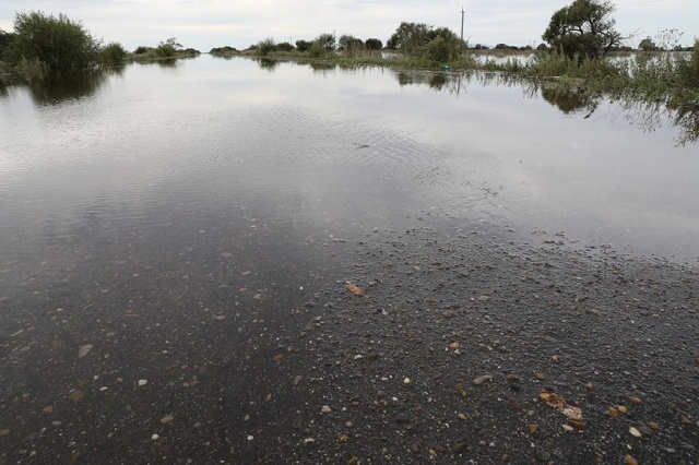 Вода отступает, но ситуация остается критической в Ленинском районе ЕАО