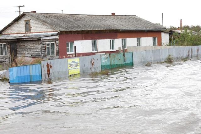 В с. Ленинское ЕАО продолжается эвакуация населения