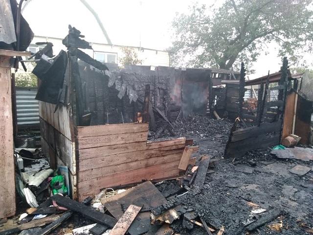 Погибла при пожаре жительница Биробиджана