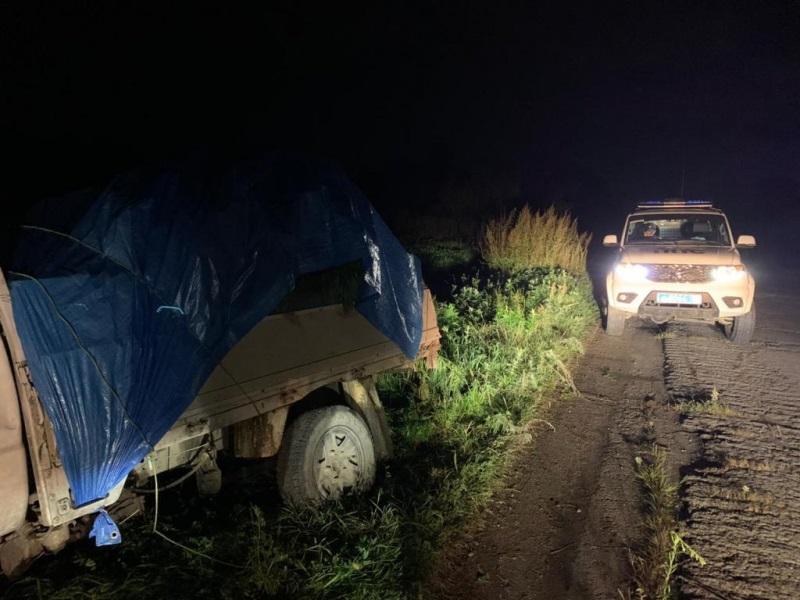 Грузовик с 69 кг конопли обнаружили в ЕАО