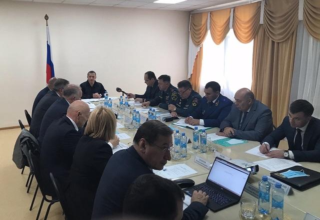 Полпред президента в ДФО Юрий Трутнев посетил село Ленинское ЕАО
