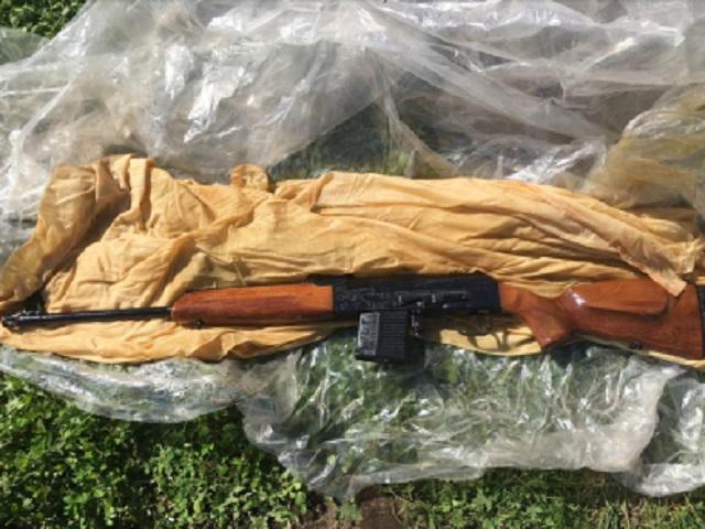Огнестрельное оружие похитили у биробиджанца