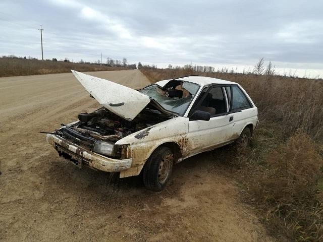 Водитель без прав и пассажир пострадали в ДТП в ЕАО
