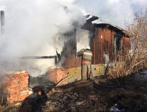 Одинокая пенсионерка не смогла спастись из горящей квартиры в ЕАО