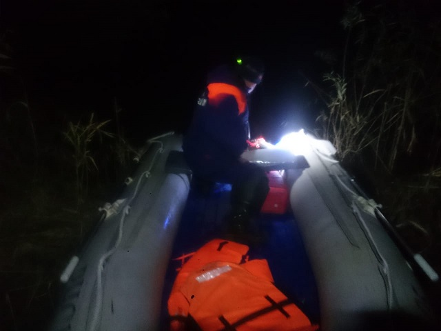 Ночного рыбака спасли из ледяной воды в ЕАО