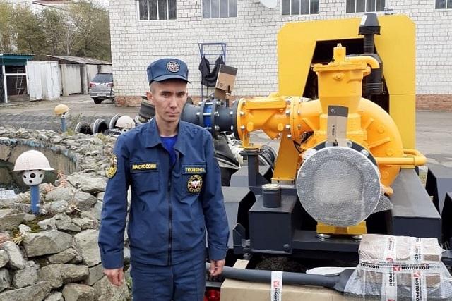 Новые высокомощные насосные станции появились у спасателей ЕАО