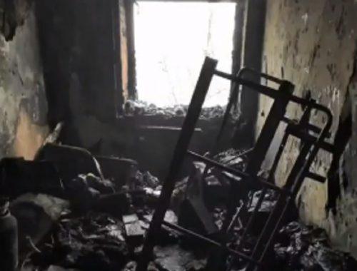 Выпрыгнула из окна горящей квартиры 12-летняя девочка в ЕАО