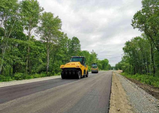 Мэрия Биробиджана отчиталась о ремонте дорог в 2020 году