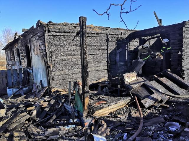 Трехлетний ребенок погиб при пожаре в ЕАО