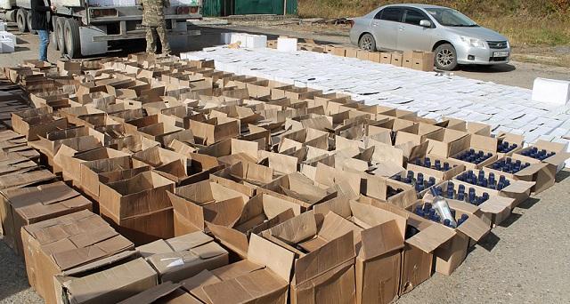 Свыше 9 тонн нелегального алкоголя изъяла полиция в Биробиджане