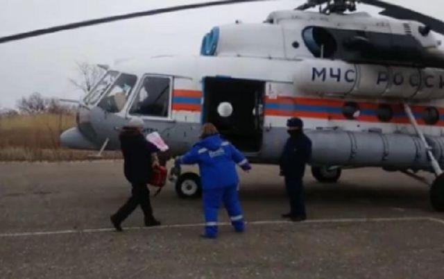 Женщину и новорожденного ребенка эвакуировали санавиацией из с. Амурзет