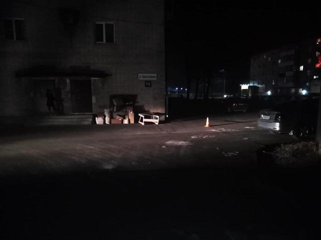 Необычное ДТП случилось в Биробиджане
