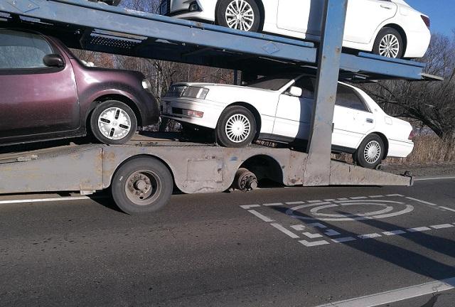 Перевозившая автомобили фура попала в ДТП в ЕАО