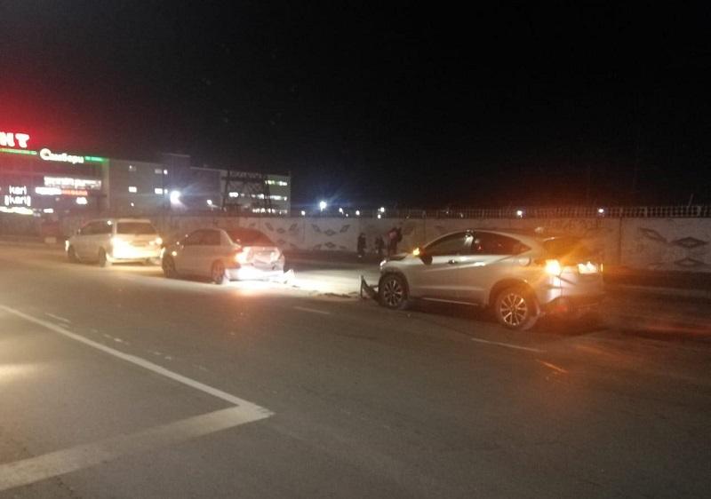 Тройное ДТП произошло в Биробиджане