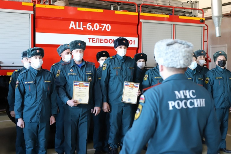 Спасатели ЕАО вернулись из зоны ЧС в Приморье