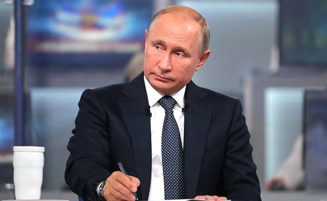 Наш вопрос президенту Владимиру Путину