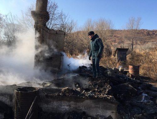 Страшный пожар в ЕАО тушили семь часов, есть погибший