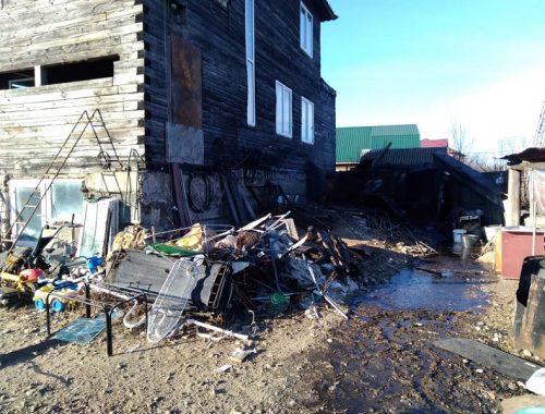 Живущие в металлических контейнерах биробиджанцы отравились угарным газом
