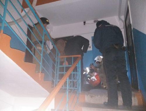 Спасатели реанимировали устроившего пожар биробиджанца