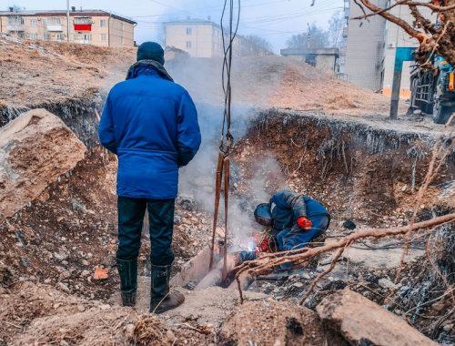 Коммунальная авария оставила без тепла шесть домов в Биробиджане