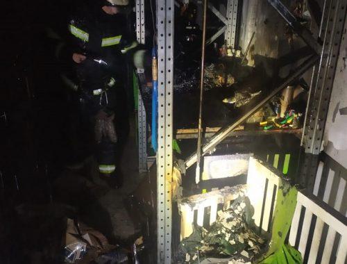 Злой рок? Спустя год после пожара опять загорелся ТРЦ «Гигант» в Биробиджане
