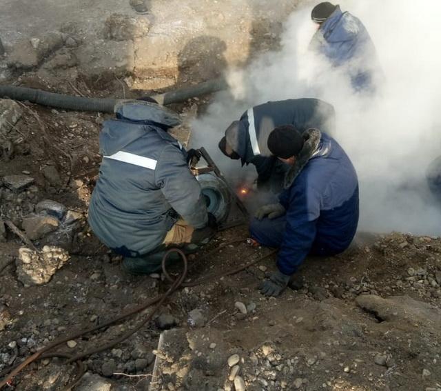 Коммунальная авария в Биробиджане: без горячей воды остались 28 домов