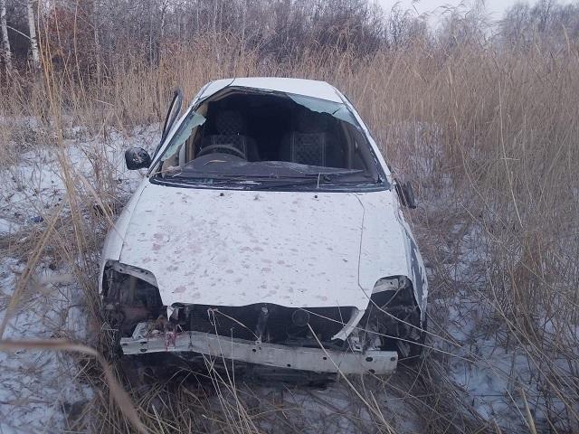 Сонная женщина-водитель пострадала в ДТП в ЕАО
