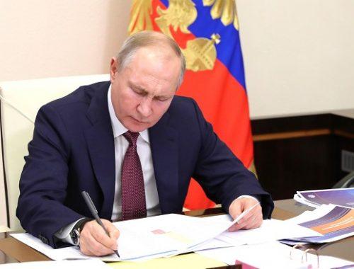 Путин назвал ЕАО в числе регионов, отстающих по дорожному строительству