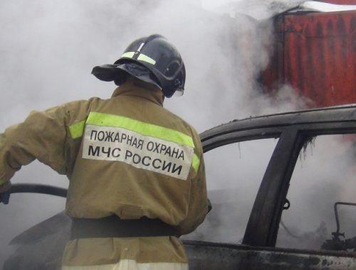 С начала года в ЕАО вспыхнули уже три автомобиля