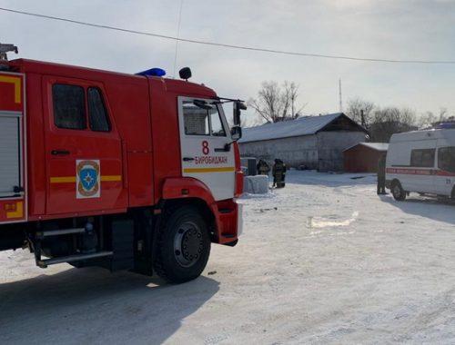Мужчина погиб при пожаре в гараже в Биробиджане