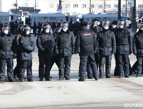Правозащитники назвали число задержанных на акциях протеста 31 января