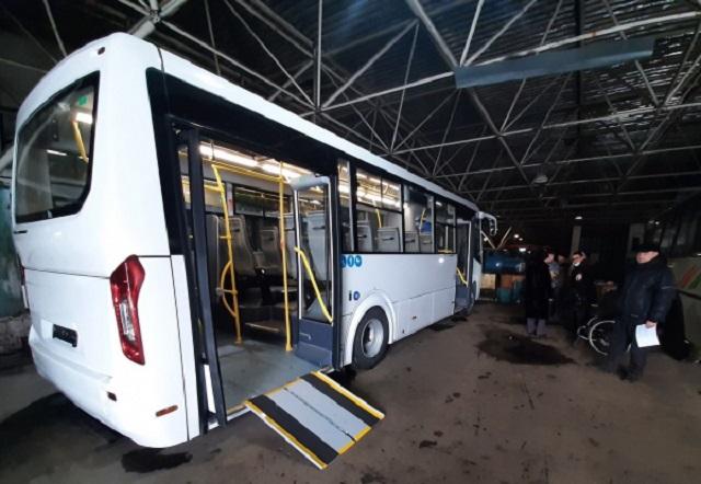 Низкопольные автобусы выйдут на маршруты Биробиджана