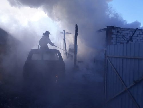 Пенсионер не успел спастись из горящего дома в ЕАО