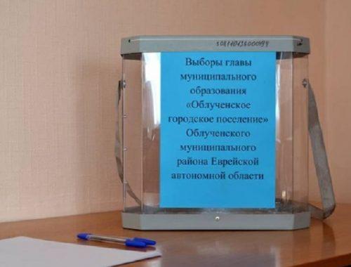 Избран глава Облученского городского поселения
