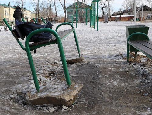 Жуть и только: состоянием детской площадки в ЕАО обескуражены общественники