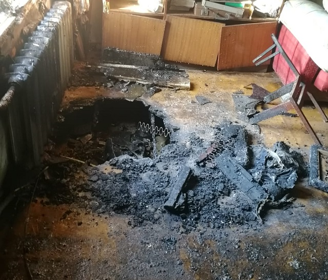 Пожар унес жизни двух братьев в ЕАО