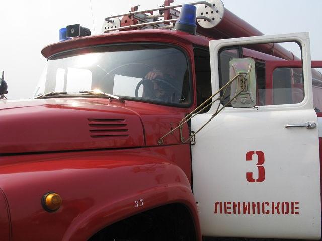 Тушить водонапорную башню пришлось огнеборцам ЕАО