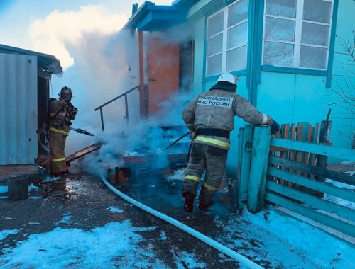 Пожилая сельчанка чуть не спалила свой дом в ЕАО