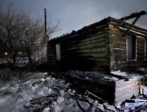 Пожилой житель ЕАО спалил собственный дом