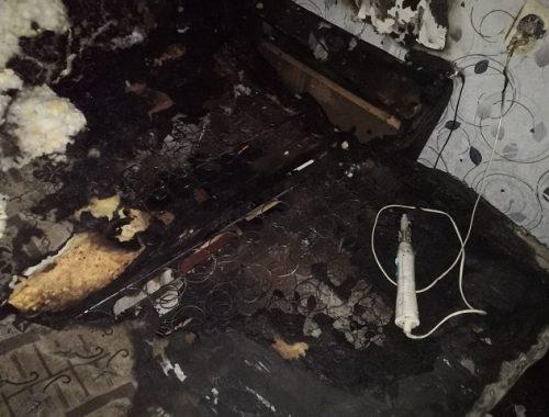 Из-за включенного фена в Биробиджане загорелась квартира