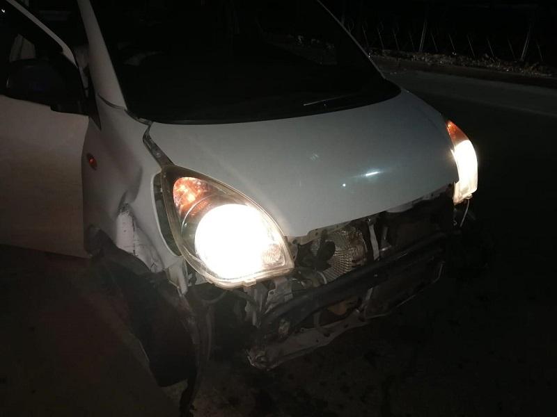 Пьяный водитель попал в ДТП в Биробиджане