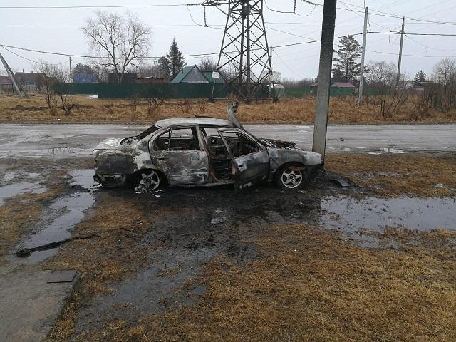 Автомобиль сгорел, водитель сбежал: сводка ДТП по ЕАО за выходные