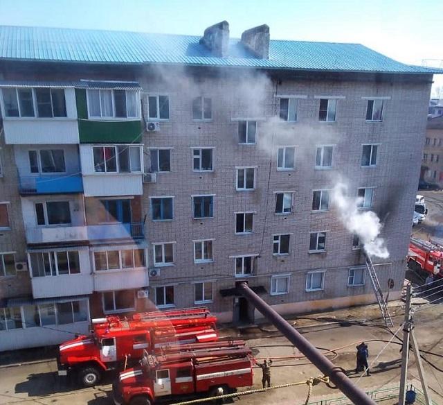 Переполох в многоэтажке устроил житель ЕАО