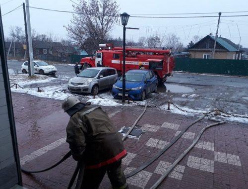 Неизвестный устроил пожар в гостинице в ЕАО