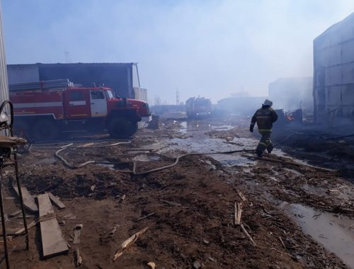 Огнеборцы ЕАО отстояли от пламени имущество на 20 млн рублей