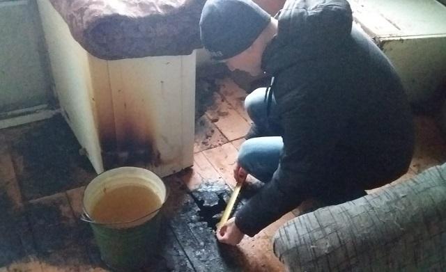 Неизвестные подожгли частный дом в ЕАО