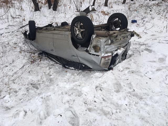 Два человека пострадали в автоаварии в ЕАО