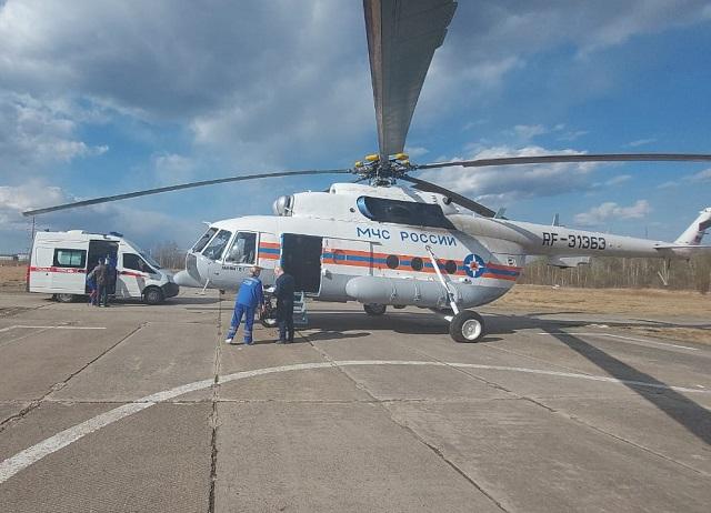 Новорожденного малыша экстренно эвакуировали из Биробиджана в Хабаровск