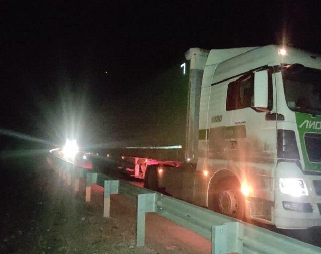 Пешеход погиб под колесами грузовика в ЕАО
