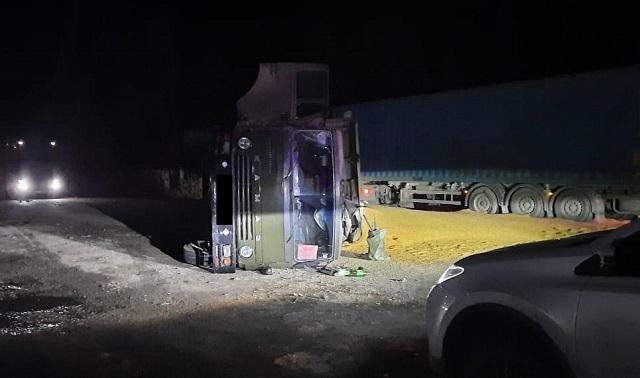Два автомобиля «Вольво» с прицепом и «Камаз» пострадали в ДТП в ЕАО
